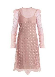 Nina Ricci Polka-dot tulle dress