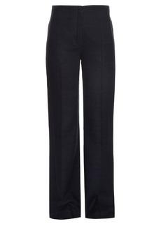 Nina Ricci Silk-canvas wide-leg trousers