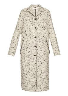 Nina Ricci Single-breasted tweed coat