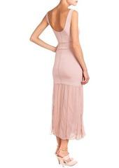 Nina Ricci Sleeveless Dress W/ Car Wash Skirt