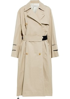 Nina Ricci Woman Cotton-gabardine Trench Coat Beige