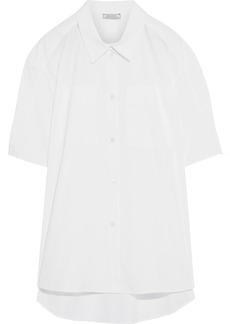 Nina Ricci Woman Cotton-poplin Shirt White