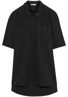 Nina Ricci Woman Cotton-poplin Shirt Black