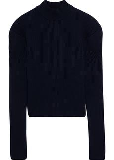 Nina Ricci Woman Ribbed Wool Sweater Midnight Blue