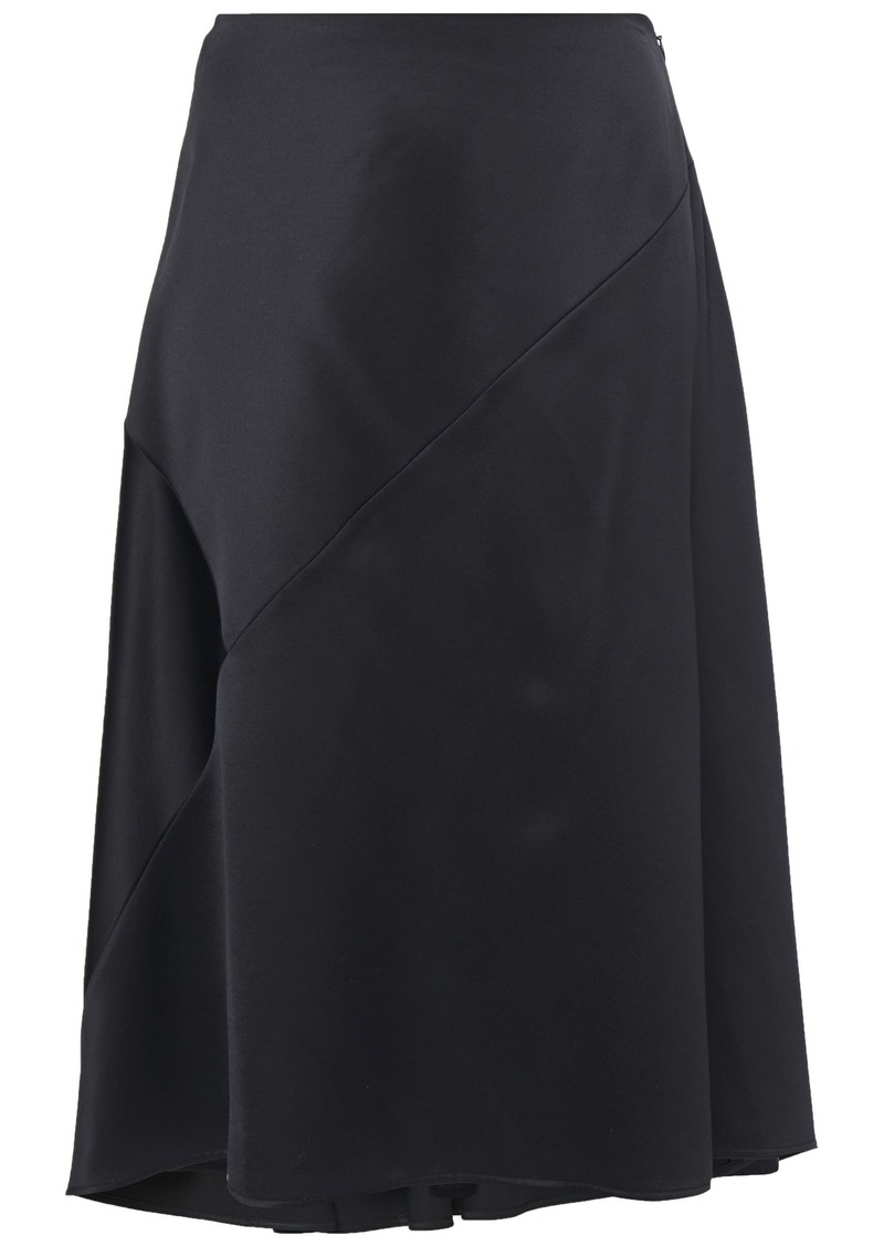 Nina Ricci Woman Satin-crepe Skirt Black