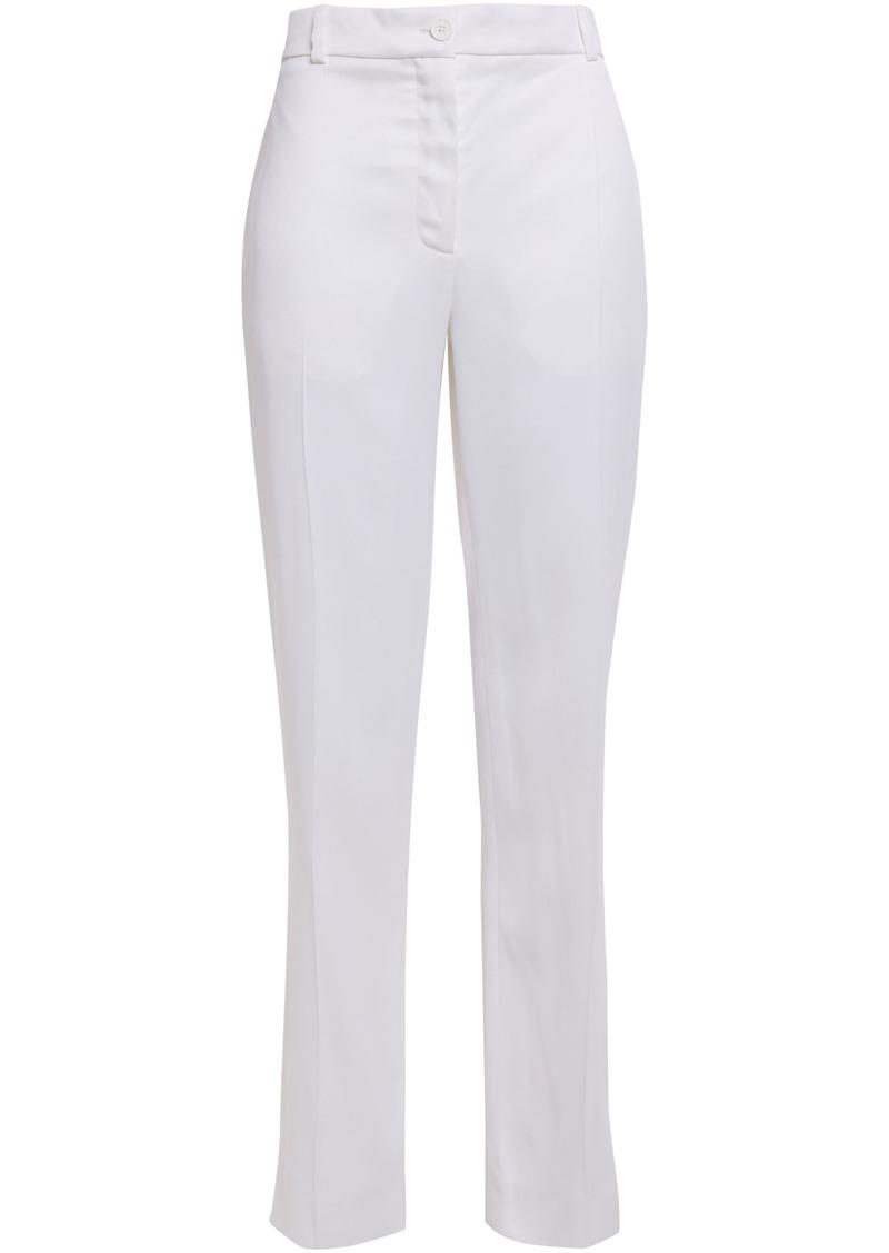 Nina Ricci Woman Satin-crepe Straight-leg Pants White