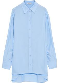 Nina Ricci Woman Silk Shirt Light Blue