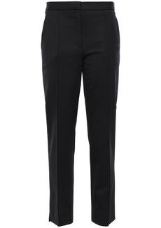 Nina Ricci Woman Stretch-twill Slim-leg Pants Black