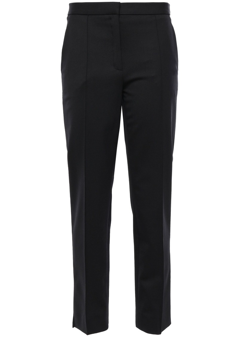 Nina Ricci Woman Stretch-twill Slim-leg Pants Black