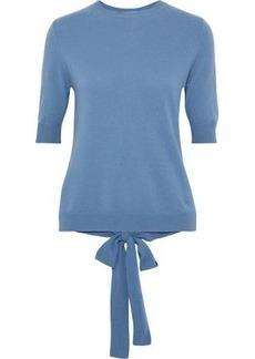 Nina Ricci Woman Tie-back Cashmere Sweater Light Blue