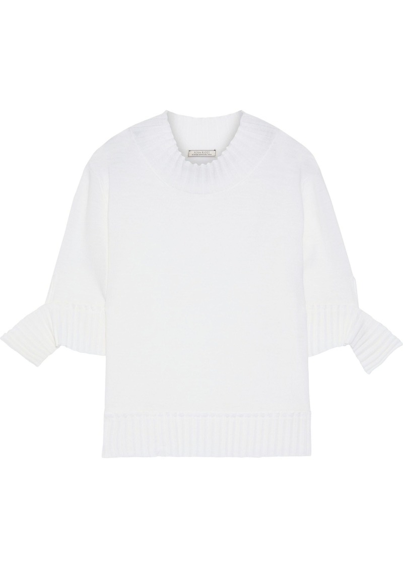 Nina Ricci Woman Wool Top White