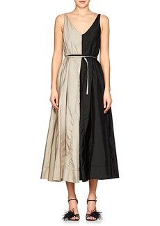 Nina Ricci Women's Colorblocked Taffeta A-Line Dress