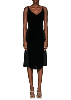 Nina Ricci Women's Combo Open-Back Dress