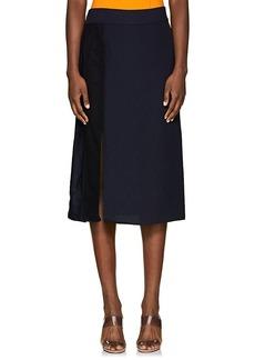 Nina Ricci Women's Combo Slit Skirt