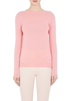 Nina Ricci Women's Cotton V'd Back Sweater