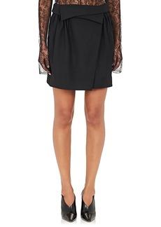 Nina Ricci Women's Foldover Miniskirt