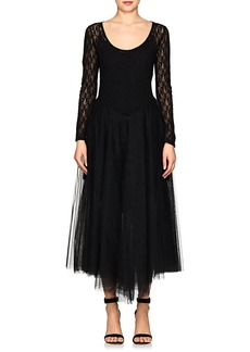 Nina Ricci Women's Lace & Tulle Dress