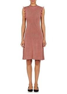 Nina Ricci Women's Rib-Knit Sleeveless Dress