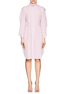 Nina Ricci Women's Silk Belted Shirtdress