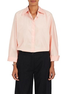 Nina Ricci Women's Silk Button-Down Blouse