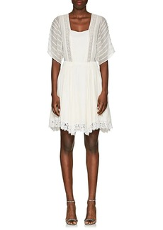 Nina Ricci Women's Silk Peasant Dress