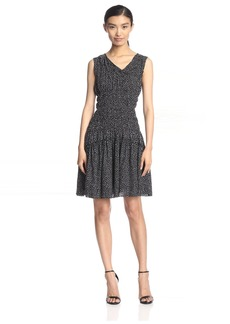 Nina Ricci Women's Smocked Waist Dress