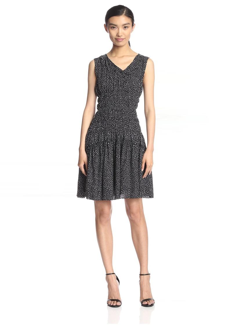 Nina Ricci Women's Smocked Waist Dress