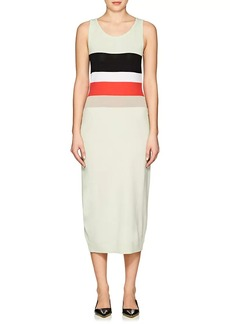 Nina Ricci Women's Striped Knit Wool-Blend Dress