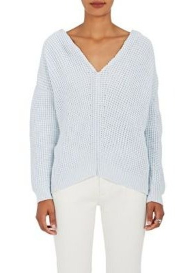 Nina Ricci Nina Ricci Women's Waffle-Knit Cotton-Blend Sweater ...