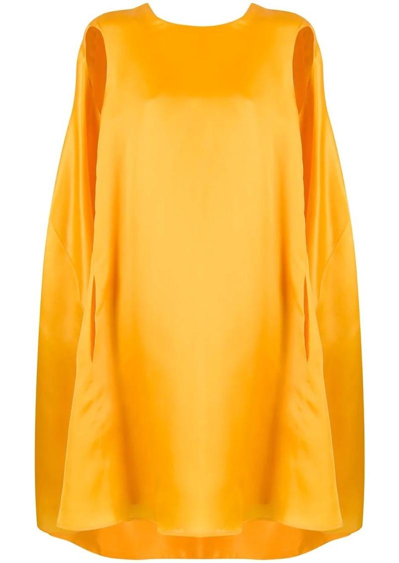 Nina Ricci oversized cape dress