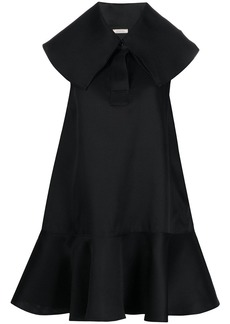 Nina Ricci oversized collar dress