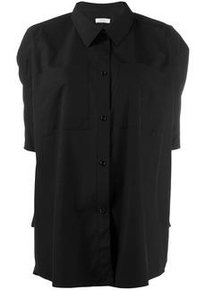 Nina Ricci oversized short-sleeved shirt
