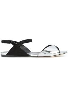 Nina Ricci peep toe slingback sandals