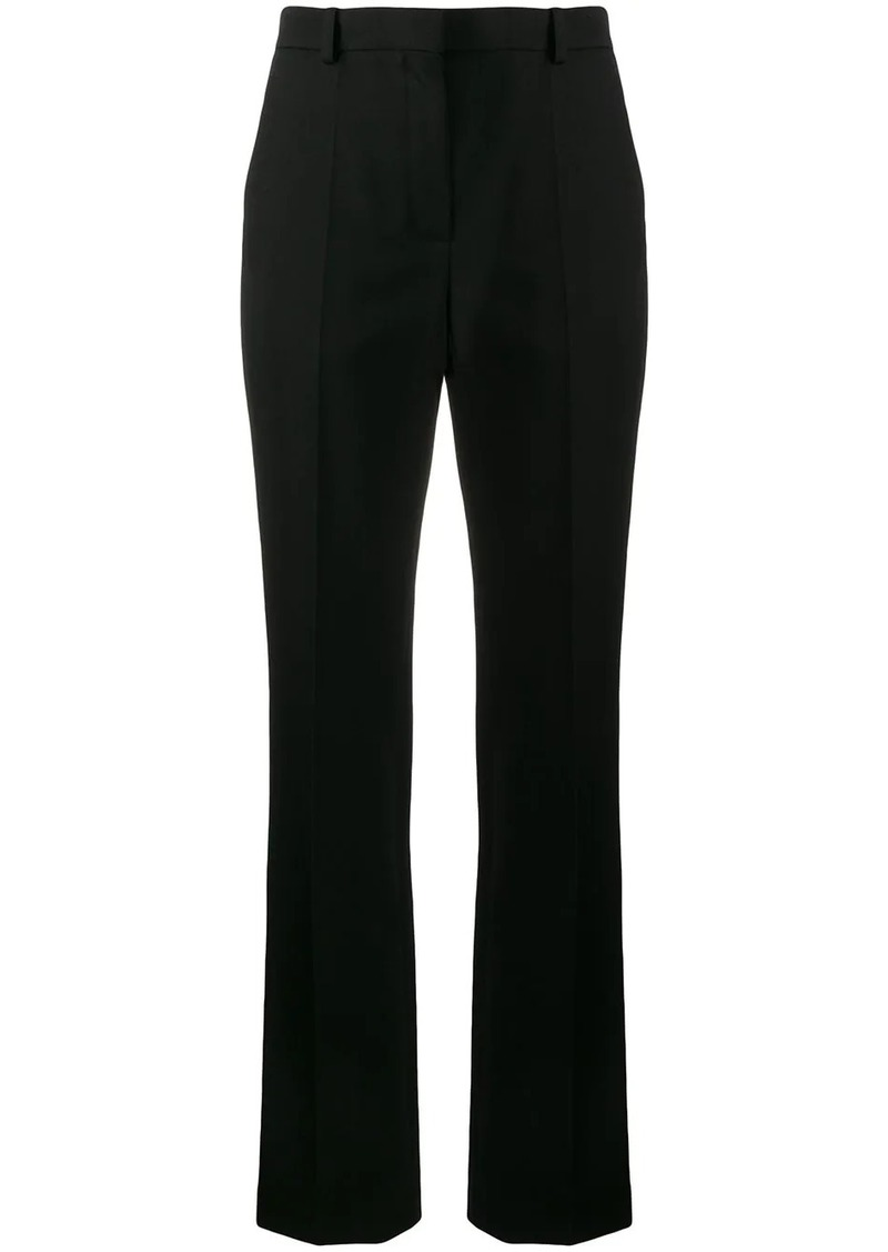 Nina Ricci pintuck front tailored trousers