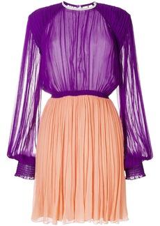 Nina Ricci pleated flared dress