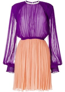Nina Ricci pleated flared dress