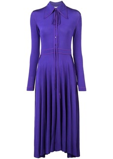 Nina Ricci pointed collar dress