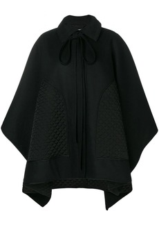 Nina Ricci quilted patch cape