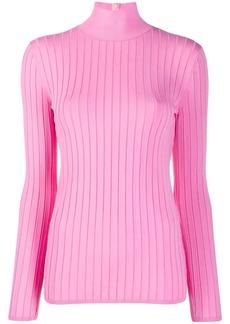 Nina Ricci ribbed fitted jumper