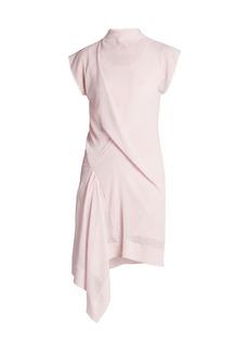 Nina Ricci Rober Gathered Asymmetric Dress