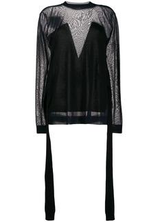 Nina Ricci sheer knit jumper