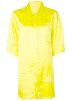 Nina Ricci short sleeve oversized shirt