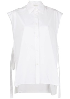Nina Ricci side tie sleeveless shirt