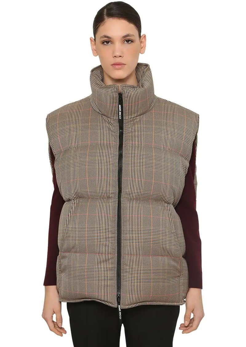 Nina Ricci Sleeveless Down Vest Jacket