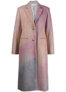 Nina Ricci Spray effect single-breasted coat