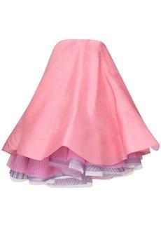Nina Ricci Strapless Multi Layer Dress