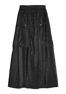 Nina Ricci Taffeta Midi Skirt