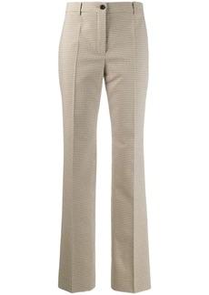 Nina Ricci tartan print trousers