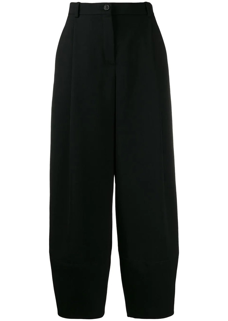 Nina Ricci wide leg high waisted trousers