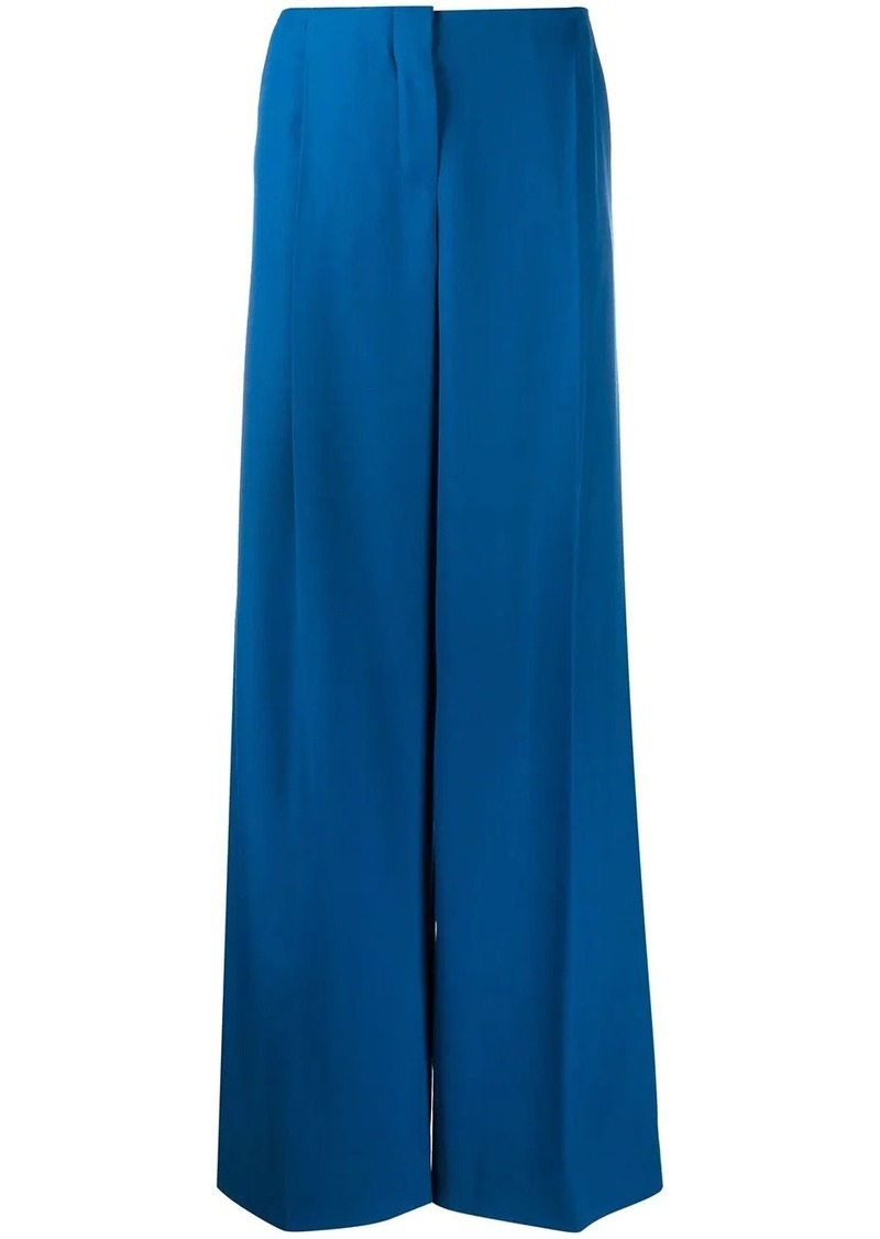 Nina Ricci wide leg tailored trousers